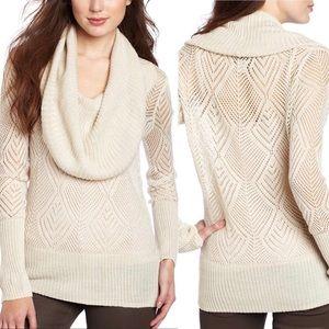"Lucky Brand | ""Paula"" Cowl Neck Sweater"